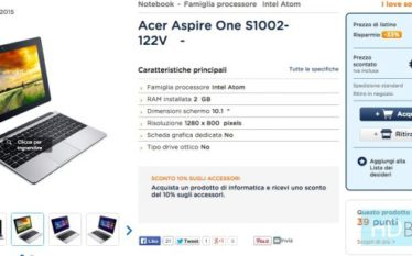 Acer Aspire One S1002